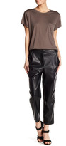 Thacker NYC Ren Draped Crop Pant
