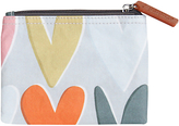 Caroline Gardner Hearts Coin Purse, Grey