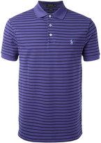 Polo Ralph Lauren striped polo shirt - men - Cotton/Spandex/Elastane - S