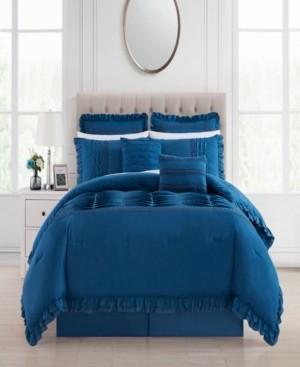 Chic Home Yvette 8 Piece King Comforter Set Bedding