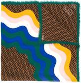 Fendi Signature scarf - women - Silk/Wool - One Size