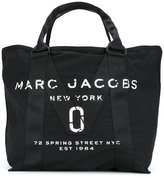Marc Jacobs logo stitch panel tote - women - Cotton - One Size