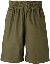 Comme des Garcons elasticated waistband shorts - men - Cotton - L
