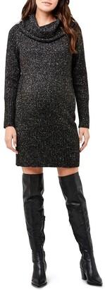 Ripe Cowl Neck Knit Dress