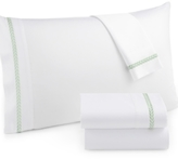 Westport CLOSEOUT! Leaf Embroidery Queen 4-pc Sheet Set, 300 Thread Count 100% Cotton