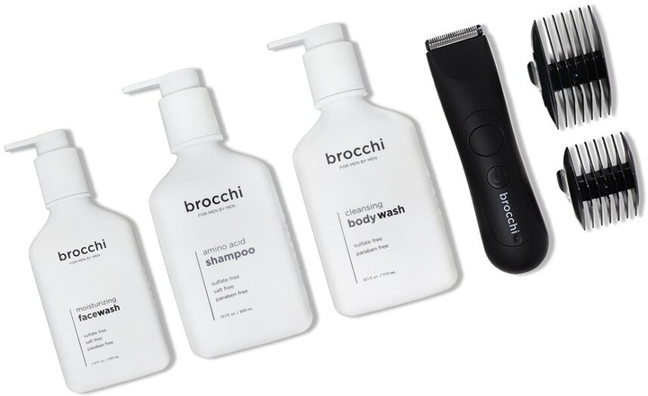 Thumbnail for your product : Sebastian Brocchi Brocchi Waterproof Usb Trimmer, Face Wash, Body Wash, & Shampoo Bundle