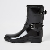 River Island Hunter Original black short wellington boots
