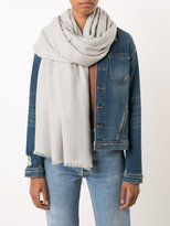 Denis Colomb frayed scarf - women - Cashmere - One Size
