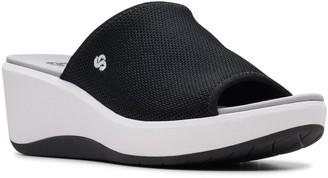 Clarks Step Cali Bay Women's Slide Wedge Sandals
