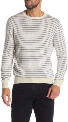 J.Crew J. Crew Everyday Thin Stripe Print Cashmere Sweater