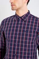 Jack Wills Blanford Poplin Plaid Shirt