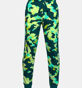 Under Armour Boys' UA Rival Fleece Printed Joggers