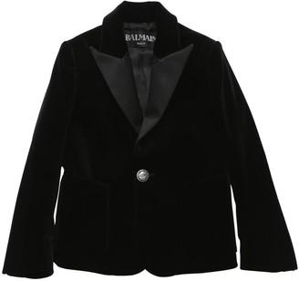 Balmain Velvet Tuxedo Jacket