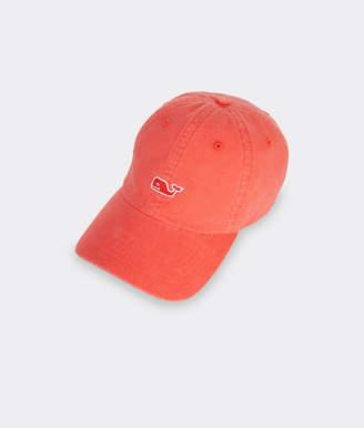 Vineyard Vines Painted Palm Whale Logo Women's Baseball Hat