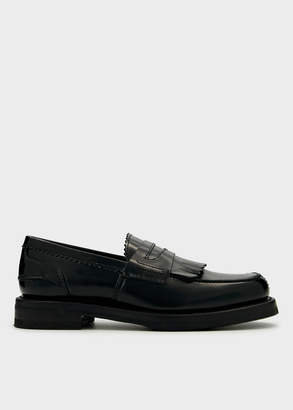 Our Legacy Men's Loafer in Black, Size 40 | Leather