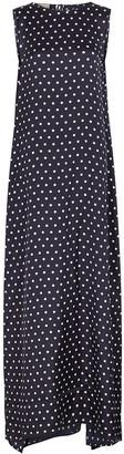 Plan C Polka-dot Maxi Dress