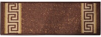 Winston Porter Bintliff Washable Skid Slip Resistant Stair Tread Color: Brown, Quantity: 1