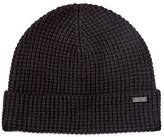John Varvatos Wool Waffle Knit Hat