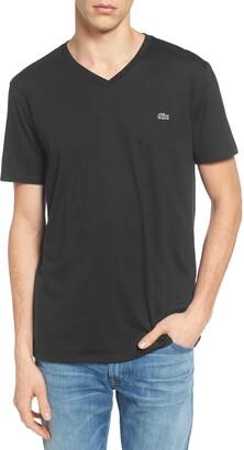 Lacoste Regular Fit V-Neck T-Shirt