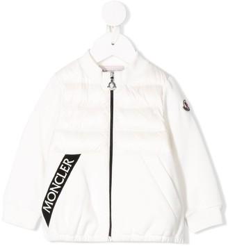 Moncler Enfant Panelled Puffer Jacket