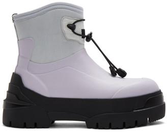MONCLER GENIUS SSENSE Exclusive 6 Moncler 1017 ALYX 9SM White Alison Boots