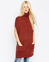 Asos Tunic With High Neck in Knit