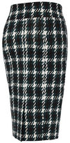 Melissa McCarthy Plus Houndstooth Pencil Skirt