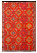 Lhasa Orange and Violet Rug