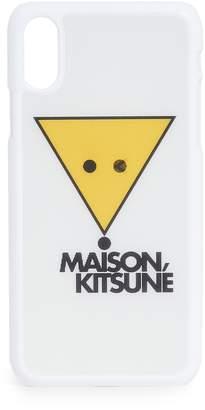 MAISON KITSUNÉ Hologran Smiley Fox iPhone X / XS Case