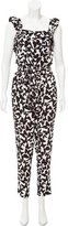 Kate Spade Printed Sleeveless Jumpsuit