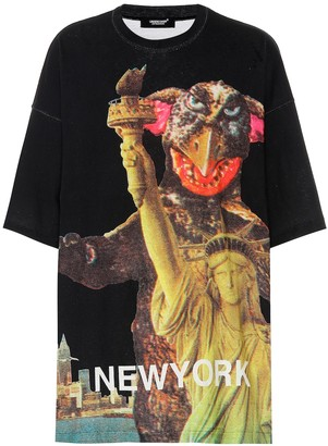 Undercover Oversized printed cotton T-shirt