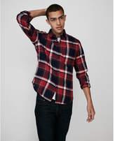 Express flannel button front shirt