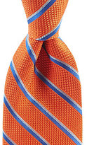 Daniel Cremieux Wave Stripe Traditional Silk Tie