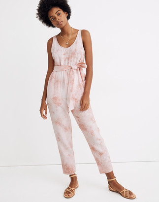 Madewell Tie-Dye Cover-Up Jumpsuit