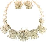 One Kings Lane Vintage Runway-Style Crystal Necklace Suite