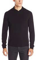 Calvin Klein Men's Cotton Modal Ottoman Hooded Sweater