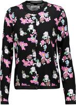 Thom Browne Floral-print wool cardigan