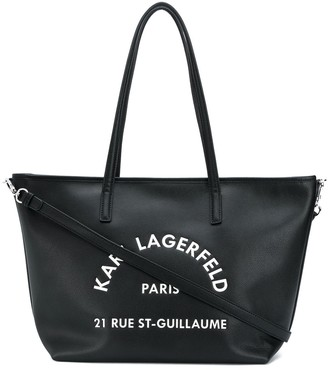 Karl Lagerfeld Paris Rue St Guillaume tote