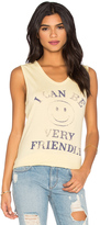 Junk Food Clothing I Can Be Very Friendly Tank
