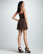 Jay Godfrey Printed Chiffon Dress