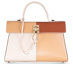Cafune Stance Small Leather Satchel
