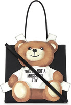 Moschino Teddy bear leather shopper
