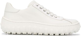 Camperlab Ground leather low-top sneakers