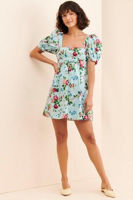 Laura Ashley Penelope Babydoll Mini Dress