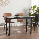 Southern Enterprises Wooden Door Kitchen Flip Top Convertible Console to Dining Table