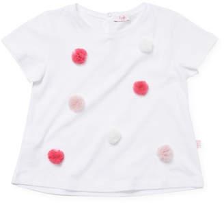 Il Gufo Pom-Pom T-Shirt