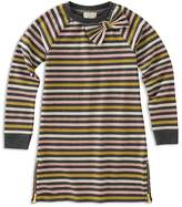 Kate Spade Girls' Striped Bow-Trim Dress - Little Kid
