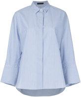 TOMORROWLAND striped boxy fit shirt