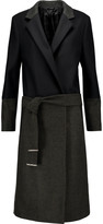 Karl Lagerfeld Sam bouclé and wool-blend coat