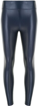 Koral Metallized Logo Leggings